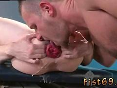 Gay twink shoulder deep fisting movietures and youngest fist fucker Alternating between