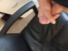 Playing with My Fat Uncut Cock and Cumming Hard, pt. 4