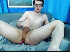 Gay Gay Amazing leg up showing his Hole