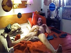 Hot Old man jerking off on webcam