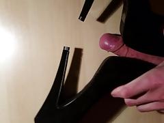 Fuck my girlfriends high heels