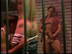 Hot Orgy In Prison