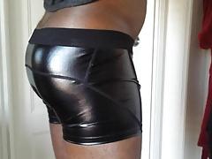 My shiny underwear