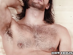 Woody Fox Busts a Nut at the Bathhouse