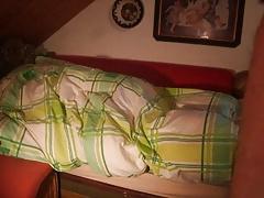 Im Bett mit... LUNA - (heimlich anal)