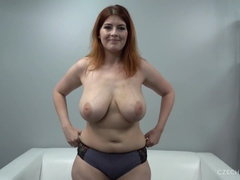 Big-Titted Sandy-Haired At Audition