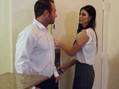 Horny guy fucked his boss's wife