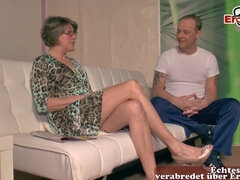 old german granny fucks younger guy
