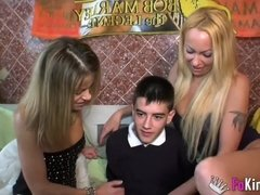 Chloe and Tamarah Dix Treat Jordi