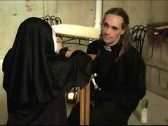Nun Fucked From Behind For Sinning