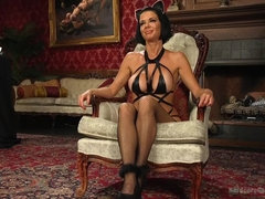 Kitten In A Cage: Veronica Avluv FUCKED WIDE OPEN!