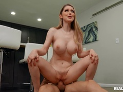 Spanking porn video featuring Bunny Colby and Alex Legend