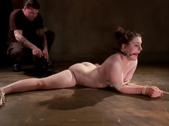 Pain Hoe in Extreme Bondage with Brutal Pain Domination!!!
