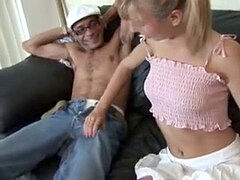 innocence Lynn does a porked up stud