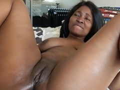 Dilettante African Lesbians Toying With Dong