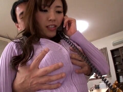 Azusa Nagasawa busty Japanese daughter-in-law fucked by older cousin - Asian tits in fetish hardcore