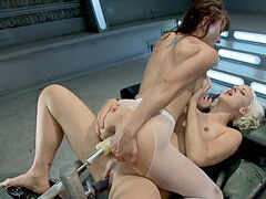 Killing the Machines with puss bust: Cytherea and Dylan