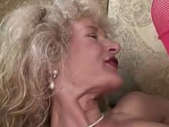 Pierced Dutch Granny Make love From Holland