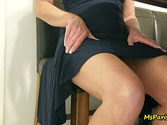 Naughty Taboo Step-aunt-in-law Paris entices Her Step-nephew Twice