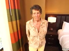 Anal porn video of granny with tattooed nipples