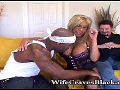 Hot wifey thirsts black stud