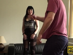 Dominated And Tied Up Fetish Goth Mom