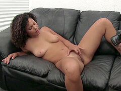 steamy Casting For A Sexy ebony stunner