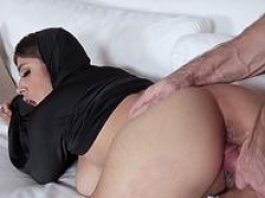 Ella Knox In Cream For Arabic Teenage