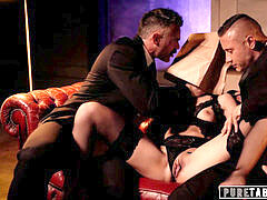 unspoiled TABOO Emily Willis Submits for Her two Dom Daddies