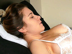 Naughty Stepdaughter 6 - Caught by stepparent making a vid for my boyfriend 4K