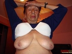 Hispanis granny porn collection