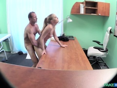Doctor fucks his hot bosses wife