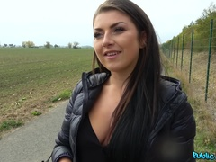 Public Agent (FakeHub): Tight Czech pussy fucked in forest