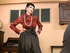Mistress Trinity - HORNY lecturer milf pt.1 (the best!!!)