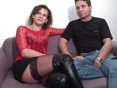 French BDSM dominance with a duo bisexual guys