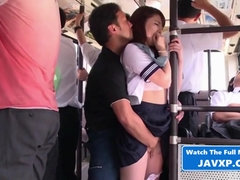 Asian Young Fucks On The Public Bus Japan porn - HQ