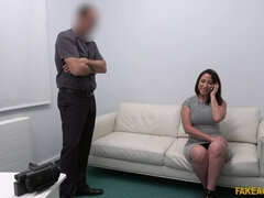 Unearthly brunette European Adara Love in great amateur porn