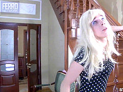 ultra-cute Sissy Crossdresser with a enormous Cock Fucks man