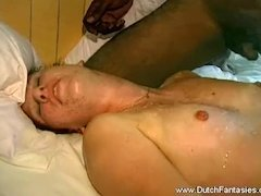 Interracial Group Sex In Holland With BBC Anal