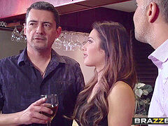 Brazzers - Real wife Stories - My boinking High school Reunion scene starring Eva Lovia and Keiran L