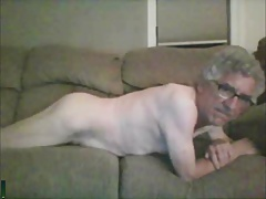 str8 grandpa hurny showing his asshole