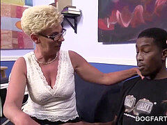 Taylor Lynn And Not Her Stepdaughter Take Care Of A big black cock