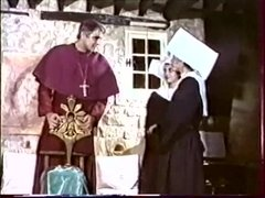 "Hot nun Anna Petrovna fucked in vintage porn movie ""La Religieuse (1987)"