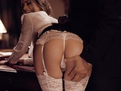 PURE TABOO Secretary Jill Kassidy Submits to Spankings