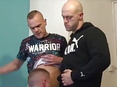 Scally thugs in action (British fuckers)