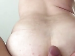 chubby bitch fucked bareback