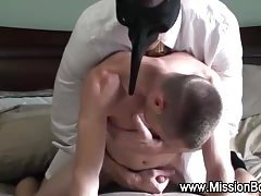 Fetish gay elder gets cumshot