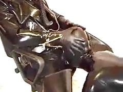 Latex Gay Blowjob