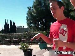 Brice carson teasing outdoor
