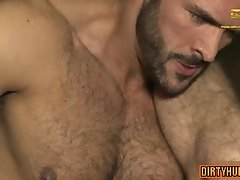 Muscle gay piss and facial